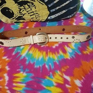 Authentic fossil vintage leather belt
